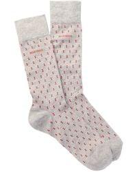 BOSS - Patterned Socks - Lyst