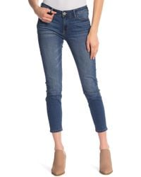 56abbb4410c Lyst - Joe s Jeans Icon Distressed Skinny Ankle Jeans in Blue