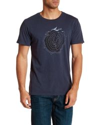 United By Blue - Topography Tee - Large - Lyst