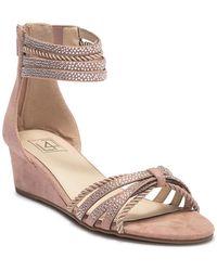 Lust For Life - Novelty Embellished Wedge Sandal - Lyst