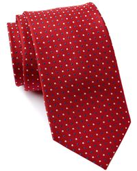 Tommy Hilfiger - City Dot Silk Tie - Lyst