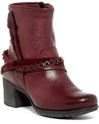 Miz Mooz - Daron Embossed Leather Boot - Lyst