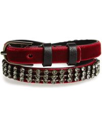 Tory Burch - Crystal Wrap Bracelet - Lyst