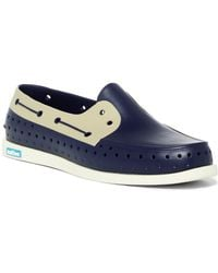 Native Shoes - Howard Block Perforated Boat Shoe (men) - Lyst