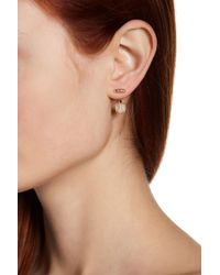 Judith Jack - Sterling Silver Swarovski Marcasite Embellished Floater Earrings - Lyst