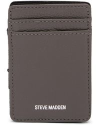 Andrew Marc - Leather Wallet & Charger Set - Lyst