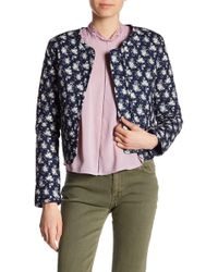 Rebecca Minkoff - Ramona Quilted Floral Jacket - Lyst