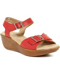 Munro - Marci Quarter Strap Wedge Sandal - Multiple Widths Available - Lyst