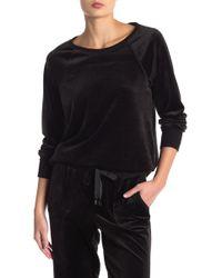 Cable & Gauge - Velour Sweatshirt - Lyst