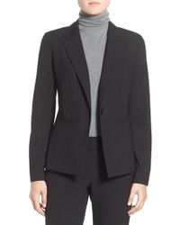 Halogen - Ela One-button Stretch Suit Jacket (petite) - Lyst