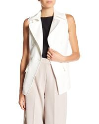 Anne Klein - Double Breasted Vest - Lyst