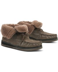 Trask - Shannon Genuine Shearling Lined Bootie - Lyst