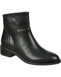 Franco Sarto - Benny Leather Ankle Boot - Lyst