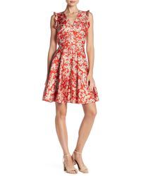 Rebecca Taylor - Cherry Blossom Silk Dress - Lyst