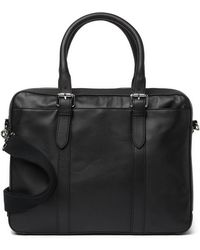 Cole Haan - Smooth Leather Attache Case - Lyst