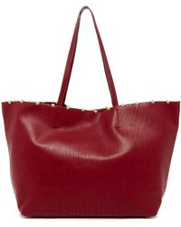 Cynthia Rowley - Tabitha Leather Tote - Lyst