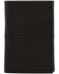 Cole Haan - Pebble Leather Trifold Wallet - Lyst