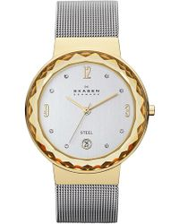 Skagen - Women's Mesh Bracelet Watch, 34.5mm - Lyst