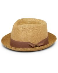 Tommy Bahama | Two-tone C-crown Fedora | Lyst