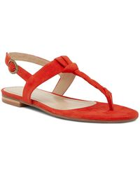Johnston & Murphy - Holly Twisted T-strap Sandal - Lyst