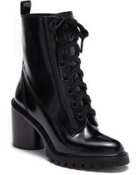 Marc Jacobs - Ryder Lace-up Leather Boot - Lyst