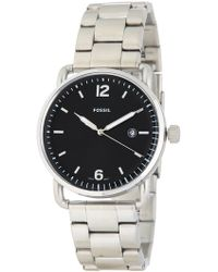 Fossil - Men's The Commuter Bracelet Watch, 42mm - Lyst