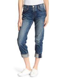 Current/Elliott - The Slevedge Taper Denim - Lyst