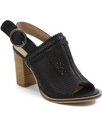 Catherine Malandrino - Dovima Peep Toe Block Heel Sandal - Lyst