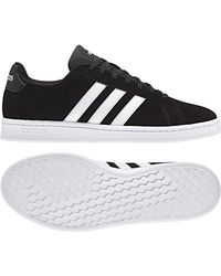 8140c511ed474 Lyst - adidas Grand Court Leather Sneaker in White for Men