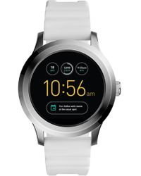 Fossil - Men's Q Activist Smart Silicone Strap Watch, 42mm - Lyst