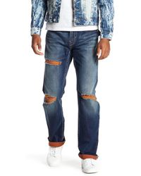 True Religion | Straight Leg Flap Pocket Jeans | Lyst