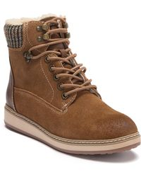 White Mountain Footwear - Theo Suede Lace Up Boot - Lyst
