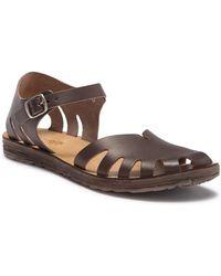 Khrio - Ankle Strap Leather Sandal - Lyst