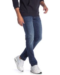 """Lindbergh - Tapered Fit Ink Wash Jeans - 32-38"""" Inseam - Lyst"""