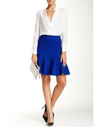 Six Crisp Days - Fit-and-flare Knit Skirt - Lyst