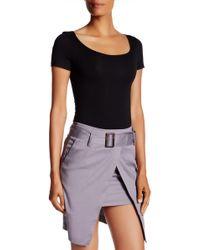 Six Crisp Days - T-shirt Thong Bodysuit - Lyst