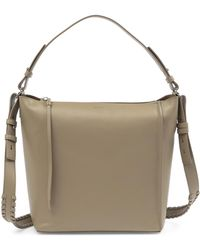 AllSaints - Kita Leather Shoulder Bag - Lyst