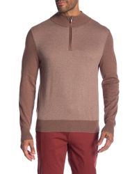 Brooks Brothers - Zip Front Sweater - Lyst