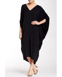 Go Couture - V-neck Dolman Maxi Dress - Lyst