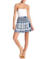 Raga - Caravan Patterned Short Skirt - Lyst
