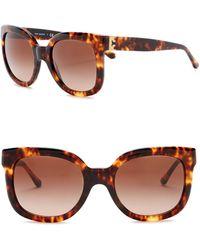 0d6f04b054a Tory Burch - 54mm Square Sunglasses - Lyst