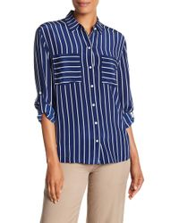 Tommy Bahama - Savanna Stripe Silk Cargo Shirt - Lyst