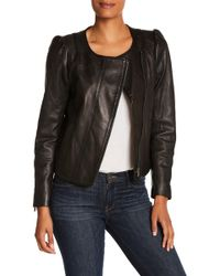 Joie - Derica Leather Jacket - Lyst