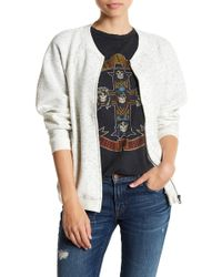 Cable & Gauge - Quilted Bomber Jacket - Lyst