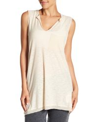 Michelle By Comune - Contrast Muscle Tank - Lyst