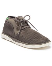 Sanuk - What A Tripper Mesh Chukka Sneaker (men) - Lyst