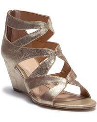 Isola - Filshia Leather Wedge Sandal - Lyst