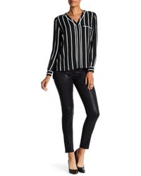 1.STATE - Lacquered Skinny Leggings - Lyst