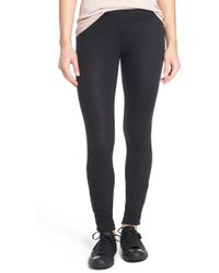 RVCA - 'laid Back' Ankle Snap Leggings - Lyst