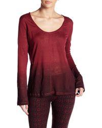 Threads For Thought - Kesara Dip Dye Long Sleeve Tee - Lyst